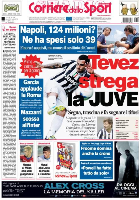 Rassegna stampa le prime pagine dei quotidiani sportivi for Camera dei deputati rassegna stampa