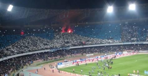 Napoli-Real Madrid, la Curva B prepara una coreografia