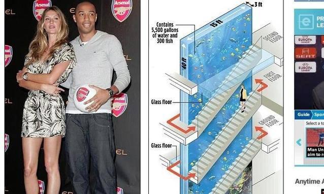 Foto henry distrugge casa per installare un acquario di for Come trovare piani di casa