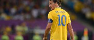 Zlatan IBRAHIMOVIC (SWE).   First Round / Group Stage: Group D: Sweden - France, KYIV, Ukraine,  June 19, 2012.  UEFA European Football Championship 2012 in Poland and Ukraine-  JAPAN OUT!  -ALLIANCE-INFOPHOTO
