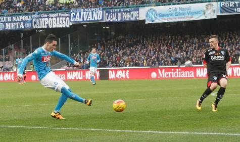 Napoli-Empoli risultato e tabellino della partita, le probabili formazioni