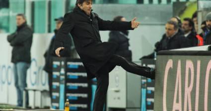 Conte reagisce in Juventus-Cagliari