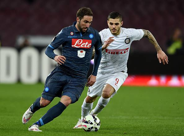 Icardi Higuain ©Getty Images