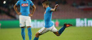 Mertens attaccante Napoli