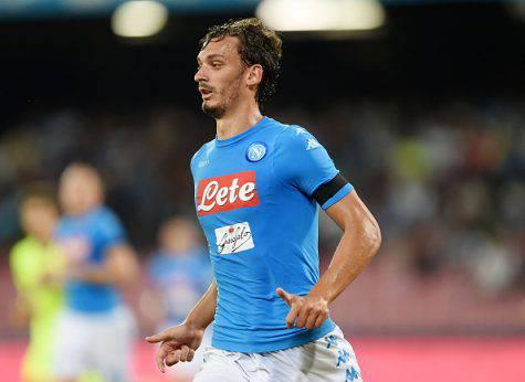 Manolo Gabbiadini attaccante Napoli