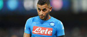Faouzi Ghoulam col Napoli ©Getty Images