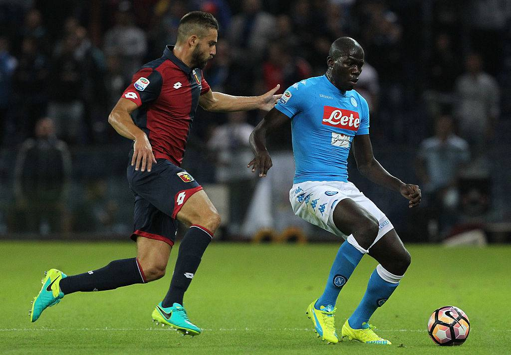 Kalidou Koulibaly in azione col Napoli ©Getty Images
