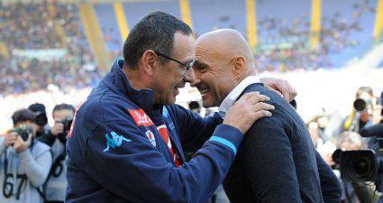 Maurizio Sarri icon Luciano Spalletti © Getty Images
