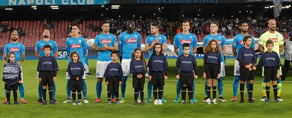 Napoli inno Champions