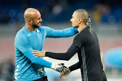 Reina e Inler ©Getty Images
