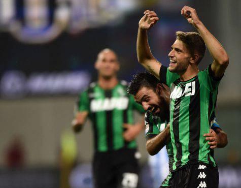 Inter e Sassuolo in contatto: Berardi e Duncan più uno scambio