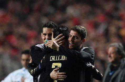 Callejon e Cristiano Ronaldo, amici a confronto: lo scambio di sms