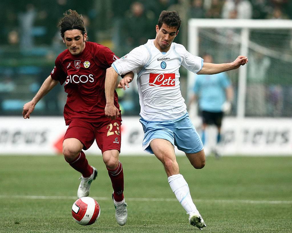 Yuri Garics con la maglia del Napoli ©Getty