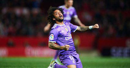 Marcelo in Siviglia-Real Madrid ©Getty