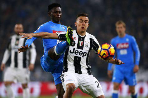 Rigore per la Juventus, Dybala pareggia, ecco il video