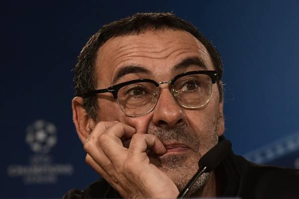 Maurizio Sarri durante un match del Napoli © Getty Images