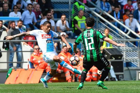 Allan Sassuolo-Napoli