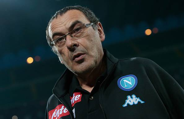 Maurizio Sarri in panchina © Getty Images