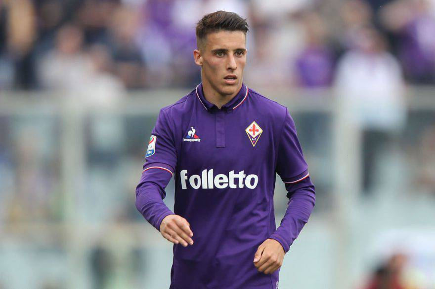 Cristian Tello con la Fiorentina ©Getty