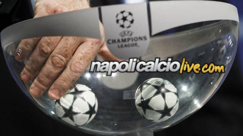 Sorteggio Champions League by Napolicalciolive.com