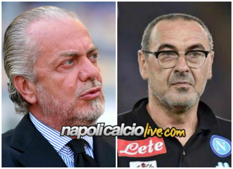 De Laurentiis e Sarri by Napolicalciolive.com