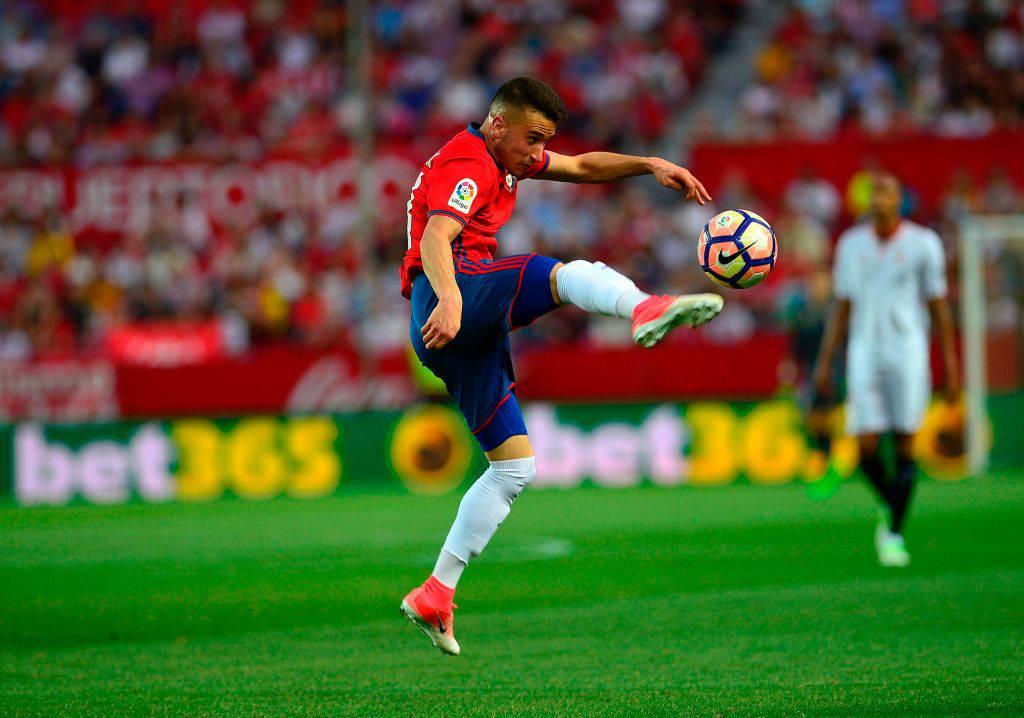 Alex Berenguer in azione con l'Osasuna ©Getty