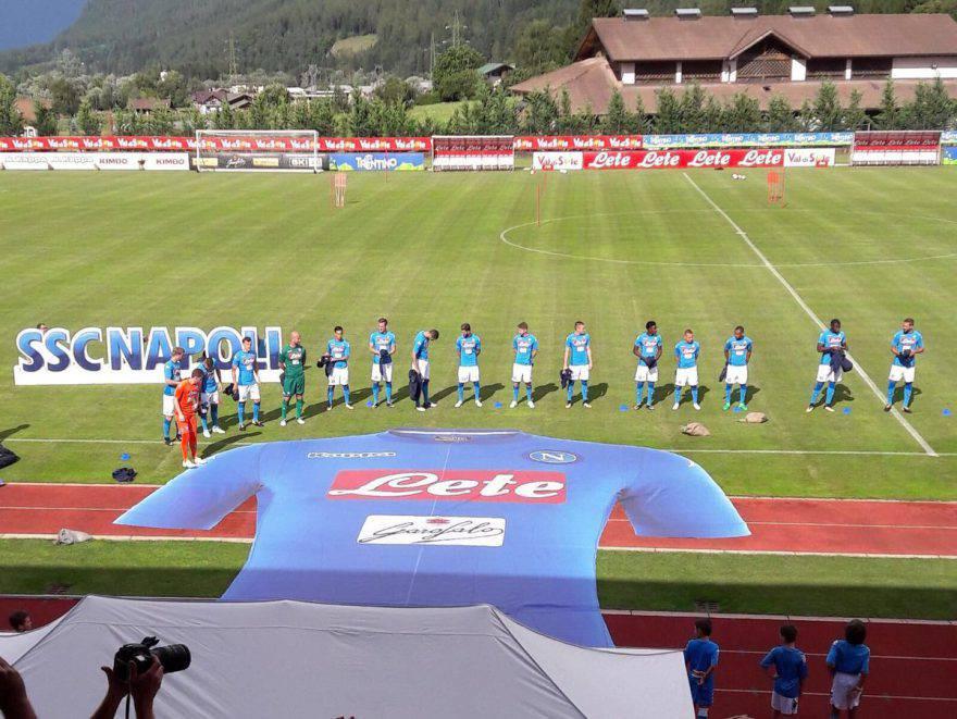 Il Napoli incontra i tifosi a Dimaro: le parole degli azzurri