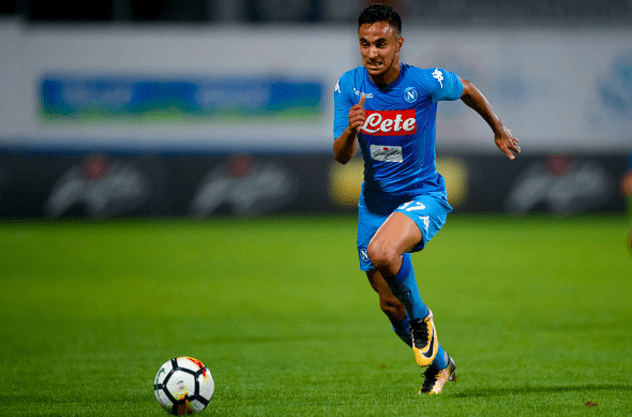 Adam Ounas col Napoli © Getty Images