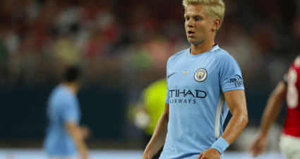 Oleksandr Zinchenko col Manchester City © Getty Images