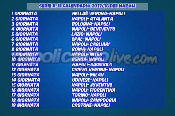 Europa League Napoli Calendario.Focus Calendari Tutti Gli Incroci Difficili Fra Serie A E