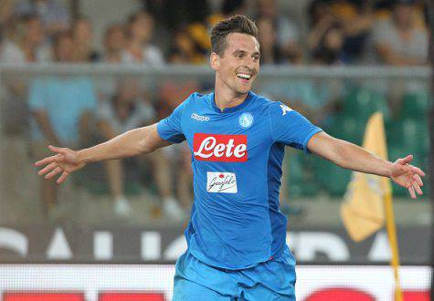 Milik attaccante Napoli ©Getty Images