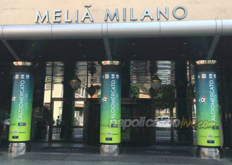 Hotel calciomercato Milano