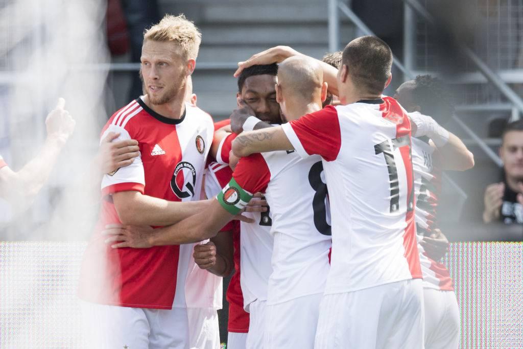 Esultanza dei giocatori del Feyenoord ©Getty