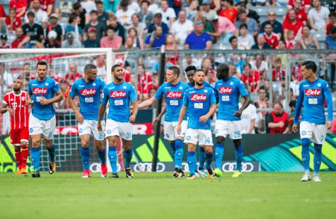 Audi Cup, Napoli-Bayern Monaco: la soddisfazione di Sarri