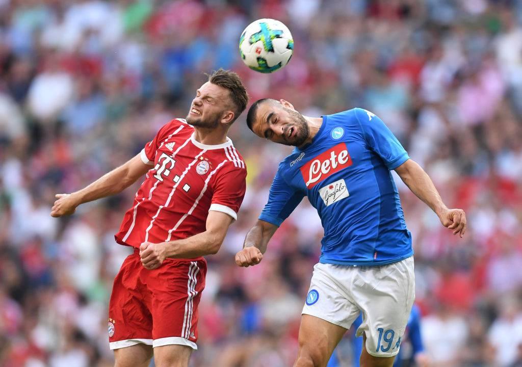 Nikola Maksimovic in azione col Napoli @Getty