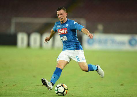 Mario Rui con la maglia del Napoli ©Getty
