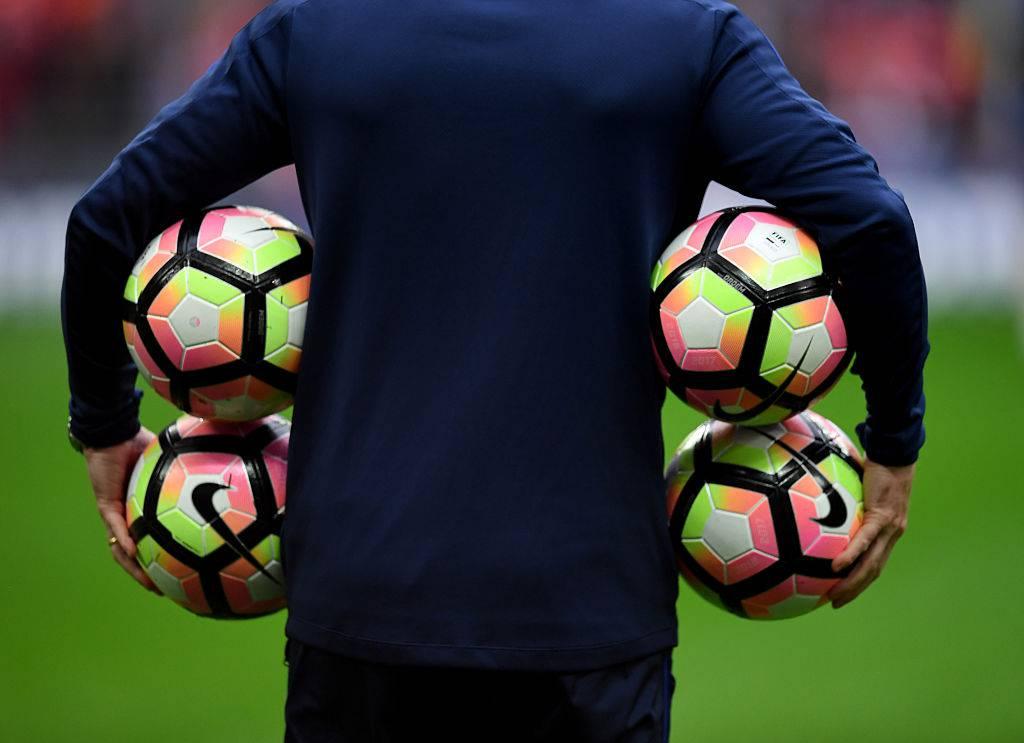 Palloni Nike in allenamento ©Getty