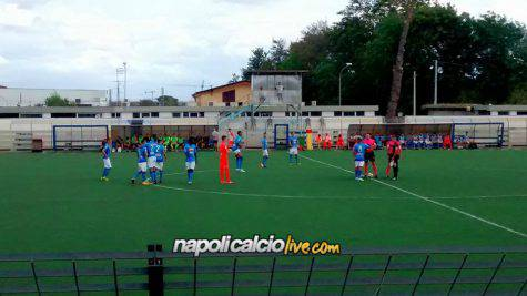 Napoli - Tonelli è rottura, il giocatore convocato con la primavera