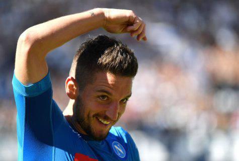 Dries Mertens, attaccante Napoli