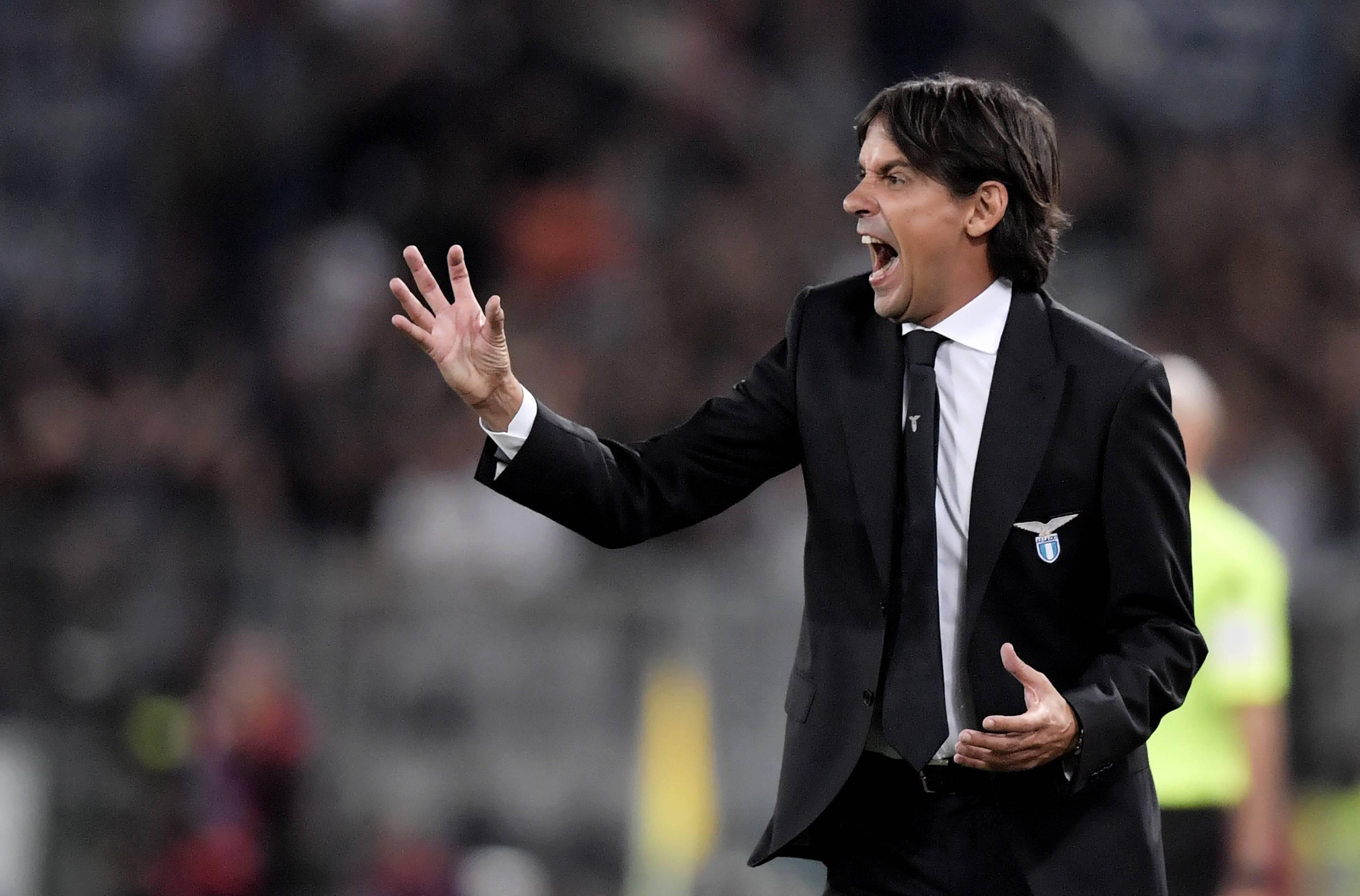 Inzaghi allenatore Lazio © Getty