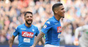 Napoli-Sassuolo 2017