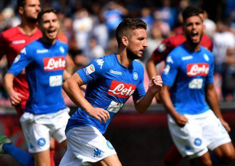 Mertens giocatore Napoli ©Getty