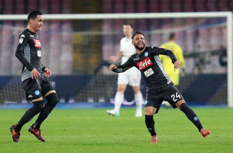 Napoli-Shakhtar 3-0, il Napoli vola anche in Champions