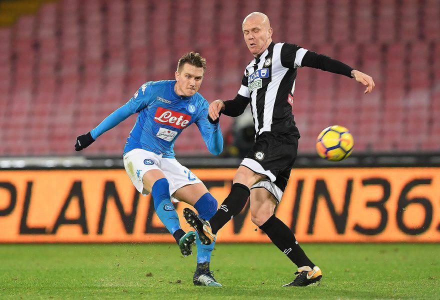 Coppa Italia, Napoli-Udinese: giocano Maksimovic, Rog, Ounas e Giaccherini