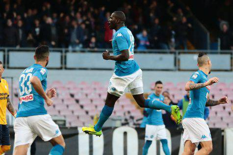 Koulibaly lancia il Napoli:
