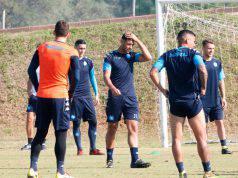 Juventus-Napoli, allenamento