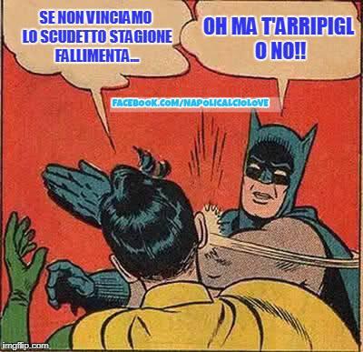 meme batman Napoli