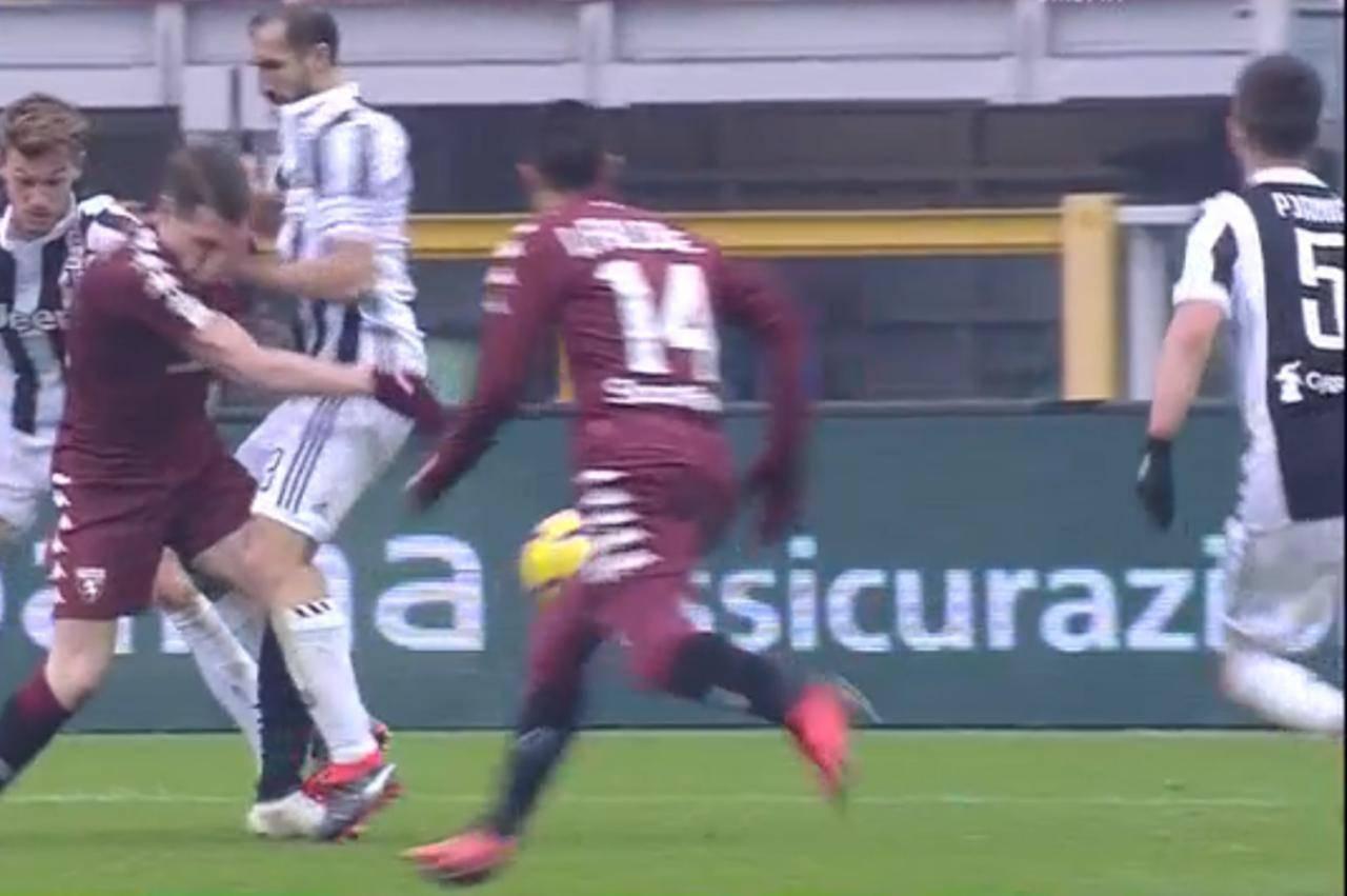 Giudice Sportivo, sei squalificati: niente prova tv per Chiellini