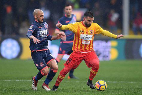 Brignola attaccante Benevento