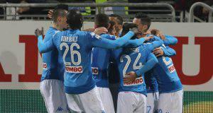 Napoli gol Cagliari